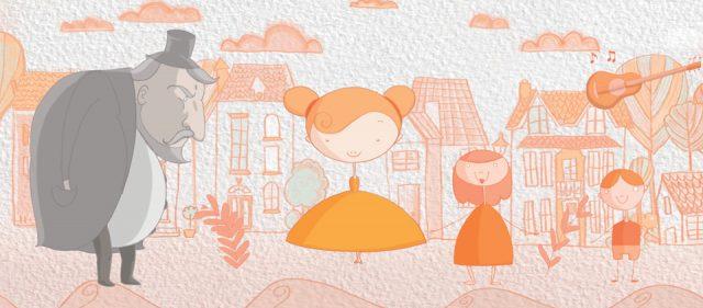 Анимационен филм_Оранжевата песен